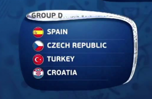 Group D pits Turkey against holders Spain, qualification rivals Czech Republic and dark horses Croatia
