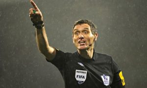 A referee's decision can often boil down to subjectivity
