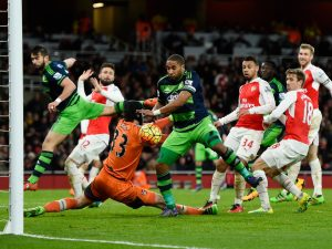 Arsenal's title challenge took a big blow when they lost to Swansea this week