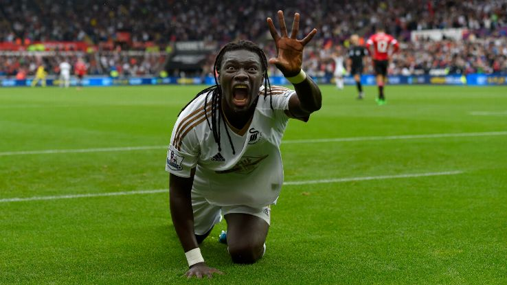 Gomis has scored just five games in 23 appearances this term