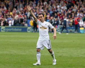 Leon Britton, one of the most consistent performers for Swansea this season