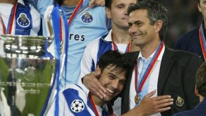 Inspired by Jose Mourinho and Deco, Porto lifted the Champions League in 2004