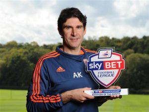 Aitor Karanka has been in charge of Middlesbrough since November 2013