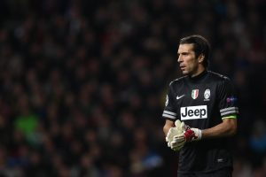 Gianluigi Buffon is set to break the record for the most consecutive minutes without conceding in Serie A