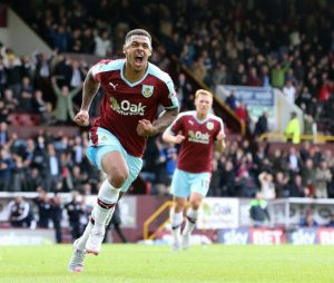 Andre Gray has scored 22 league goals for Burnley this season