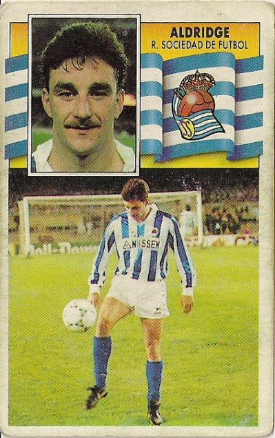 John Aldridge moved from Liverpool to Real Sociedad as they abandoned their player policy