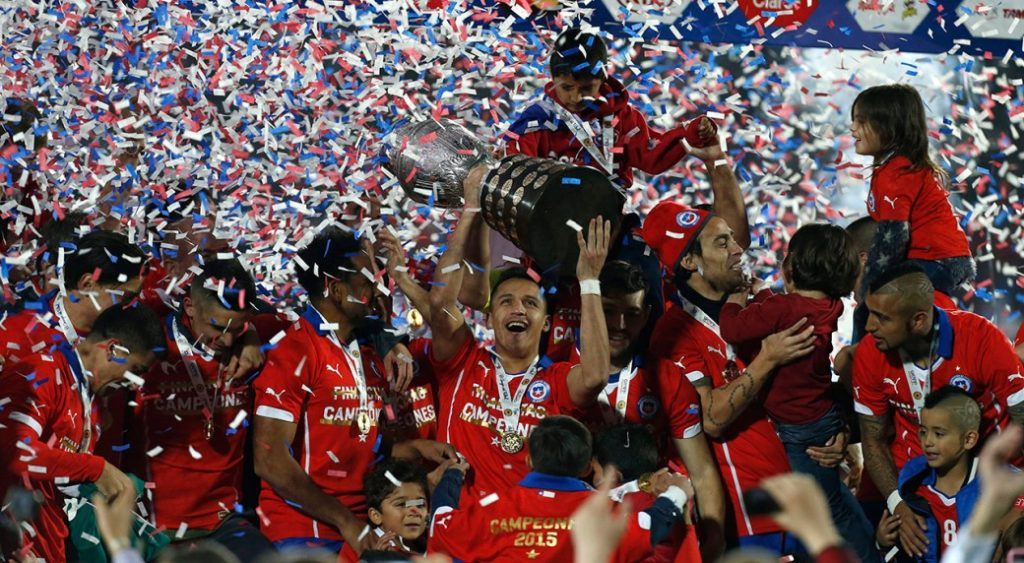Current Copa America holders have already qualified for the 2017 Confederations Cup