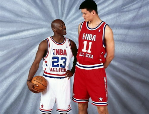 Superstar Yao Ming single-handedly made basketball the Chinese national sport