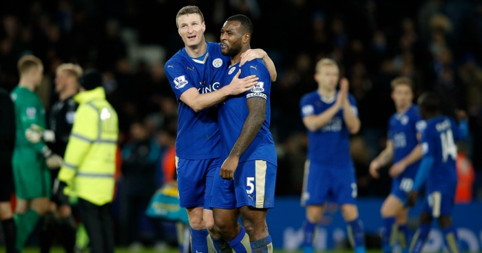 Wes Morgan and Robert Huth have been called 'the Human Battering Rams' for their performances this season