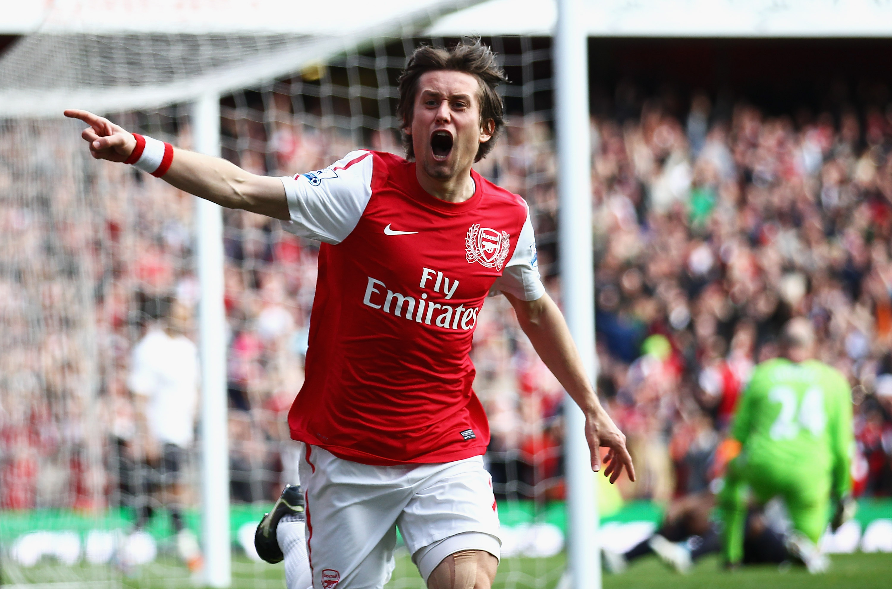 Rosický has played 246 times for Arsenal since joining from Borussia Dortmund in 2006