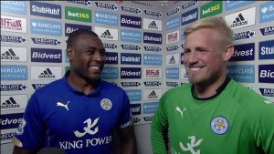 Despite playing international football for Jamaica and Denmark, British schooled Wes Morgan and Kasper Schmeichel help boost Leicester's British spine