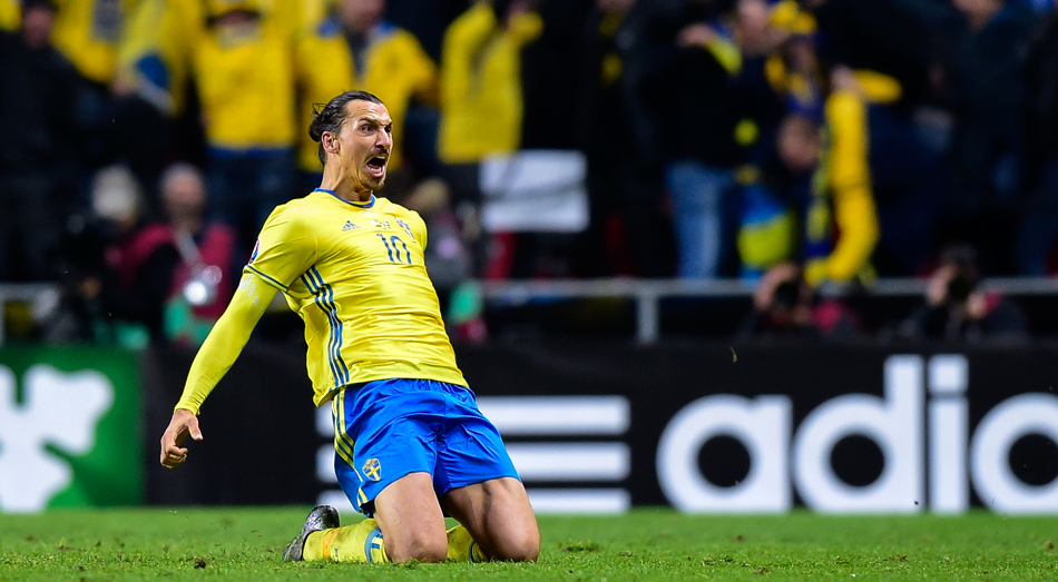 Zlatan Ibrahimovic has scored 62 times in 112 games for Sweden