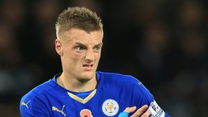 Jamie Vardy was accused of racist comments towards a Japanese casino-goer