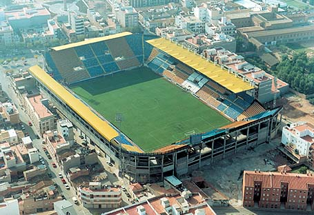 Villarreal's 25,000 seater stadium in 1970