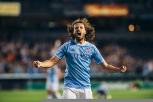 The US international made history when he scored the newly founded MLS team's first ever goal