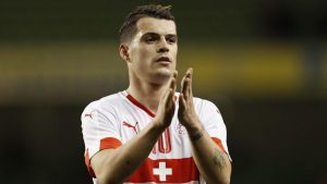 Xhaka has been excellent in central midfield