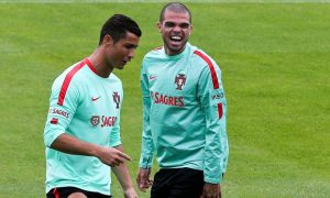 Once again, Portugal's hopes rest on the shoulders of Pepe Cristiano Ronaldo