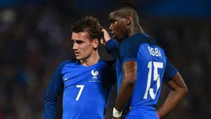 Payet will be wishing for more support from Griezmann and Pogba this time round