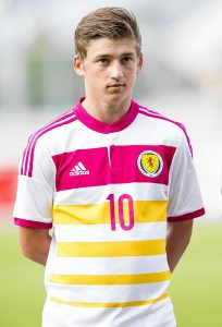 20 year old Ryan Gauld has been whetting the national appetite