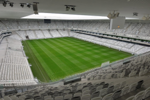 The recently opened Stade de Bor- deaux has been built with the capability of physical vibration