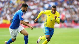 Olsson impressed again in the match against Italy