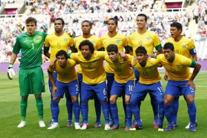 Brazil picked up silver for their footballing performances at London 2012