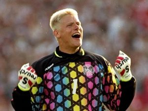 Peter Schmeichel was key to Denmark's success in 1996