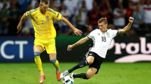Kroos was Germany's stand out performer in their win against Ukraine