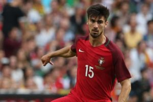 Andre Gomes played the first 60 minutes in Portugal's pulsating 3-3 draw with Hungary