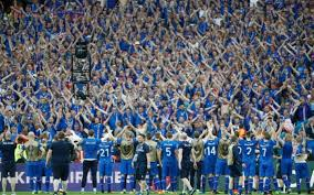 Iceland caused the shock of the tournament by beating England
