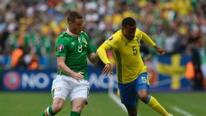 Norwich man Ollson was Sweden's most dangerous attacking threat during their first Group E game