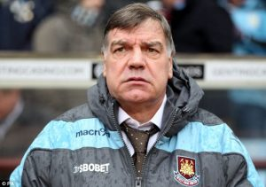 Sam Allardyce was not a popular appointment at West Ham