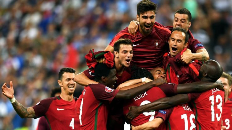 Eder's goal was the difference in the Euro 2016 Final