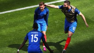 Deschamps will be hoping Griezmann and Pogba can replicate the stellar performances they had against Iceland.