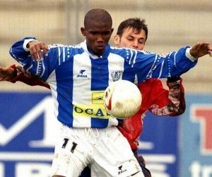 Samuel Eto'o arrived on loan at CD Leganés during the 1997/98 season