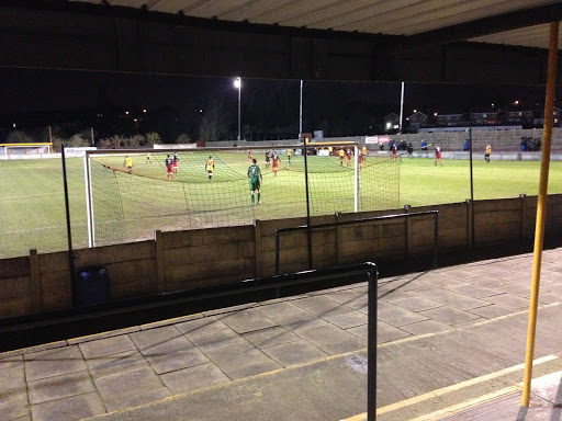 Ossett Albion play at Queen's Terrace, or more commonly known as Dimplewells