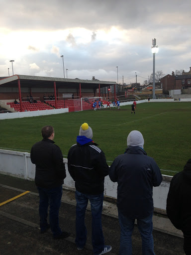 The Ingfield Stadium plays home to Ossett Town