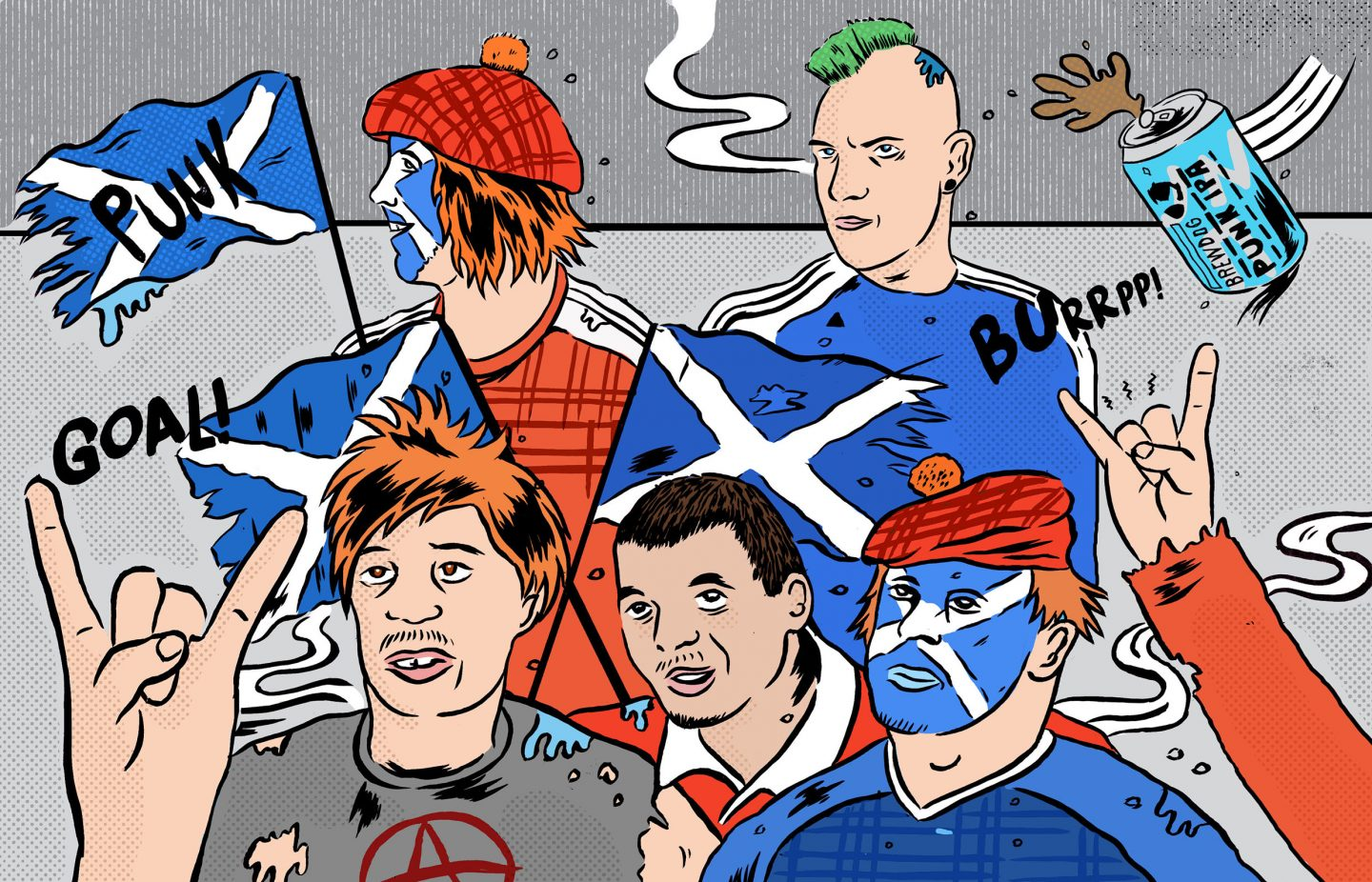 Tartan trousers on the terrace: Why Scottish football needs to be punk