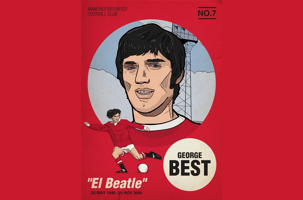 George Best: Playing away