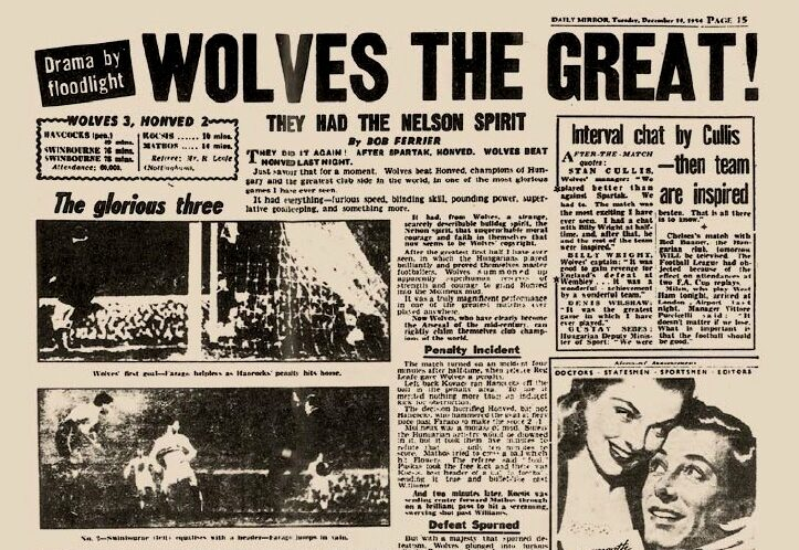 Great Reputations: Wolves 1957-60 – the mighty men from Molineux