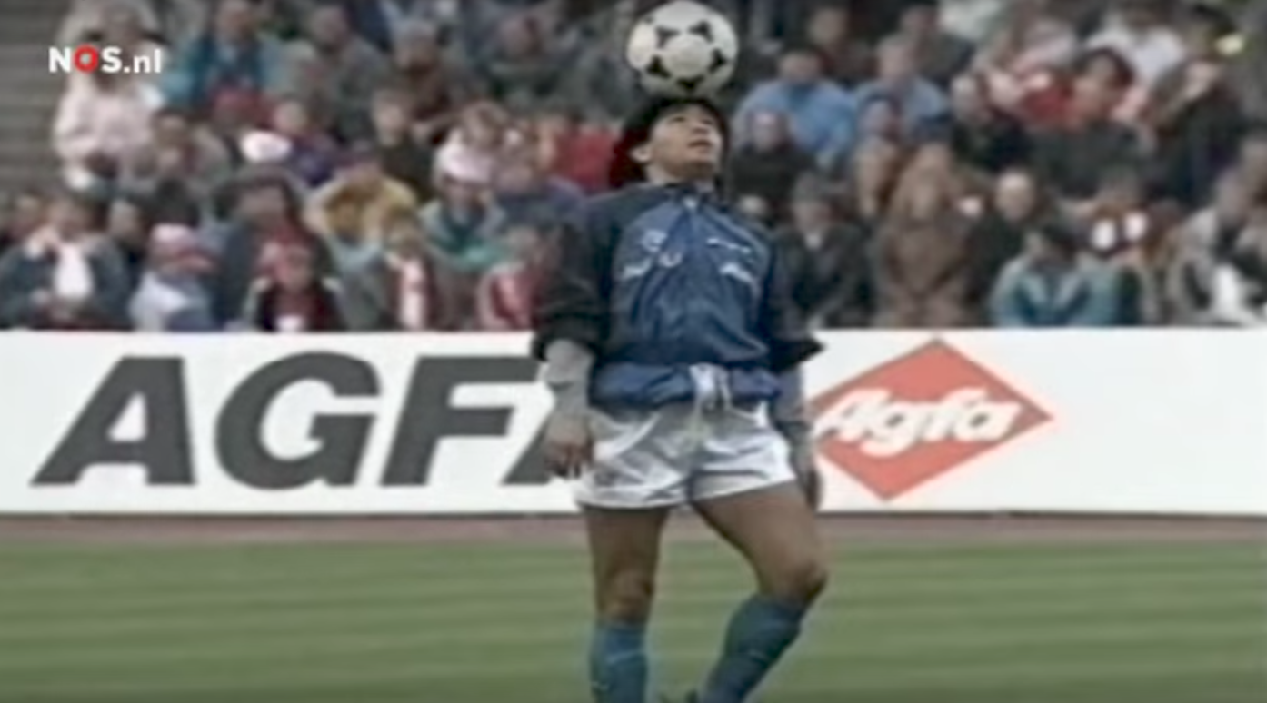 Breaking down the greatest warm-up of all time, courtesy of Diego Maradona