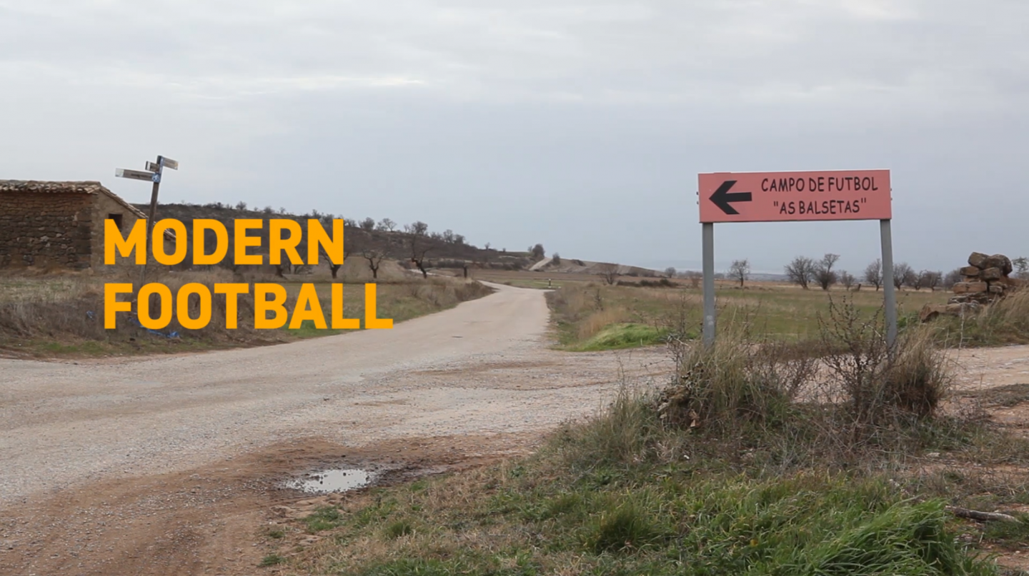 Modern Football: A short film from Aragón, Spain