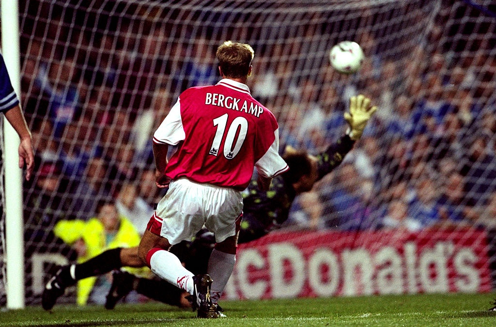 Dennis Bergkamp: nullified by nothing, capable of anything